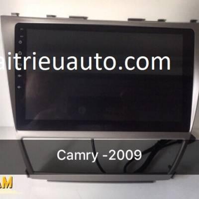 màn hình android theo xe camry 2010