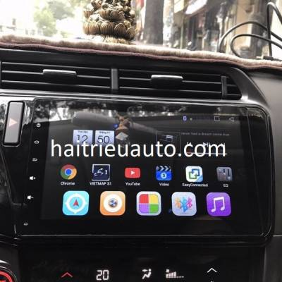 màn hình android ZULEX theo xe honda city 2017