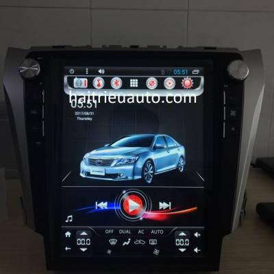 màn hìnhTesla theo xe camry 2013-2017
